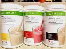 NEW 3X HERBALIFE FORMULA 1 HEALTHY MEAL NUTRITIONAL SHAKE MIX MANY FLAVORS