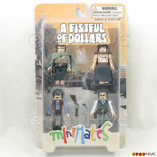 Minimates A Fistful of Dollars Collectible Clint Eastwood western worn box set