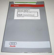 Werkstatthandbuch Audi A4 Typ B5 Motronic 6 Zylinder Einspritzanlage Zündanlage!