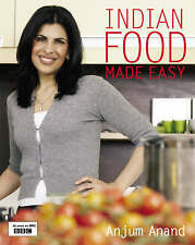 INDIAN FOOD MADE EASY by Anjum Anand : WH1/2 : PBL710 : NEW BOOK