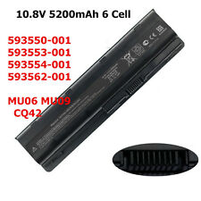 New Battery For 593554-001 HP G62 G72 Pavilion g6 DV5-2135DX DV5-2000 DM4-1165DX