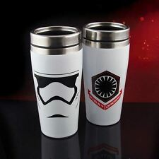 Star Wars First Order Stormtrooper Travel Mug Steel Insulated Double Walled Cup