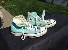 Converse All stars Allstars High Tops Hi Men youth 5 Women 7 Mint Green