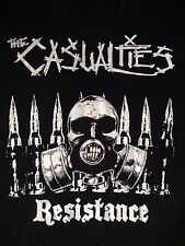 Casualties Resistance T-Shirt Limited Edition New York Street Punk Hardcore