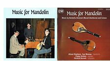 MFD IN CANADA CD MUSIC FOR MANDOLIN : MUSIC BY BARBELLA : HUMMEL + MOZART