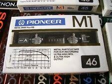 1 x PIONEER M1 46 TYPE:IV Metal MC Cassette Tape OVP! Rare! Vintage 1982!