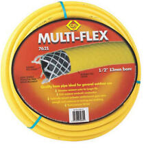 "NEW CK 15m 50ft Trade-Duty 1/2"" Multiflex Reinforced Garden Hose Pipe G7621"