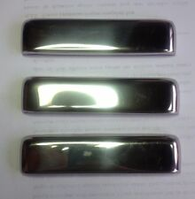 Suzuki Jimny Samurai SJ410 SJ413 Trim Metal Chrome Door Handle Garnish (3 pcs)