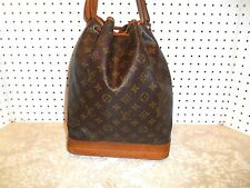 AUTHENTIC LOUIS VUITTON NOE GM TOTE SHOPPERS HANDBAG  AR0940