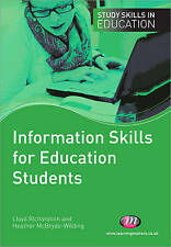 Information Skills for Education Students by Heather McBryde-Wilding, Lloyd Ric…