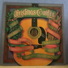 VARIOUS Christmas Country 1981 UK vinyl LP EXCELLENT CONDITION Nancy Sinatra