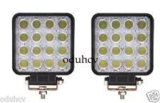 2x LED 48W Luz De Trabajo Barra 12V 24V Proyector Spot Haz luz Offroad Barco