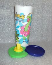 Tupperware 16oz Tumbler Pokemon Catch em All 2-Part Sipper Seal Sippy Cup Blue