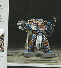Warhammer 40k Captain Aethon in Terminator Armor Betrayal at Calth Horus Heresy