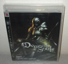 DEMON'S SOULS Rare SEALED NEW Black Label ENGLISH/Chinese Version w/Tearstrip