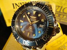 Invicta 13859 47mm Grand Diver Auto 24 Jewel Blue Dial S/S Bracelet Watch NEW!!
