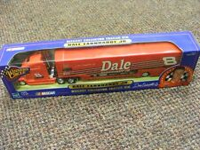 DALE EARNHARDT JR. DIECAST COLLECTOR TRAILER RIG. WINNERS CIRCLE 1/64TH MODEL