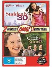 Suddenly 30 / Catch And Release - 2 Movie Pack NEW R4 DVD