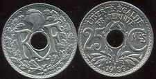 25 centimes  LINDAUER .1939. points avant et aprés la date  SPL