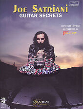 Joe Satriani Guitar Secrets Learn to Play Rock Lesson TAB Music Book