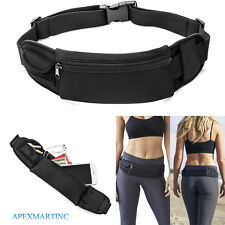 Waterproof Waist Belt Zip Pouch Pack Pocket Bag Outdoor Sport Gym Running iPhone