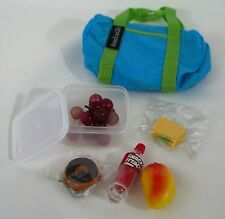 FOR AMERICAN GIRL DOLL LUNCH SET WITH BAG WITH MANY USES / ACCESSORIES