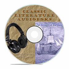 THE VOYAGE OF THE BEAGLE, CHARLES DARWIN, ON CLASSIC AUDIOBOOK LITERATURE CD-A30