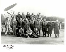 10x8 Battle of Britain RAF photo WWII 253 squadron signed Bob INNES