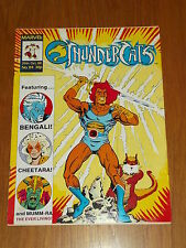 THUNDERCATS #84 29TH OCTOBER 1988 BRITISH WEEKLY FREE POSTER GIFT INCLUDED