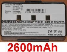 Batterie 2600mAh 010-10517-00 010-10517-01 011-00955-00 Pour Garmin GPSMAP 376C