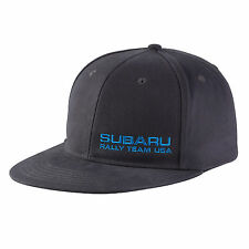 Genuine Subaru Rally Flat Visor Cap Grey Rally Gear Hat Impreza STI WRX Racing !