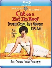 CAT ON A HOT TIN ROOF (1958) -  BLU RAY - Sealed Region free
