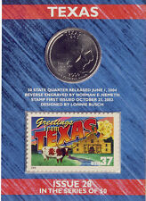 USPS Texas State Quarter� and Stamp Set