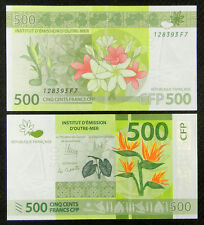 French Pacific Territories 500 Francs Banknote 2014 UNC