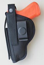 """Gun Holster Belt Clip-on for SAR B6C 9mm Compact Pistol with 3.8"""" Barrel"""