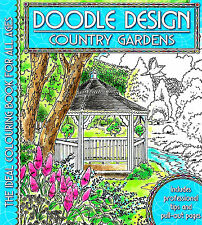 Country Gardens (Adult Colouring Book) (Doodle Design) (New Mindfulness P/B)