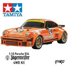 Tamiya 1:10 Porsche 934 Jagermeister 4WD Electric RC On-Road Kit TAM84431