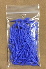 100 Magic Keypoint Key Point Dart Tips Short Blue w/ FREE Shipping