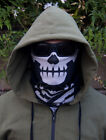 Milspec Monkey MSM SKULL FACE Mask Multi Wrap Head Gear - URBAN SWAT BLACK