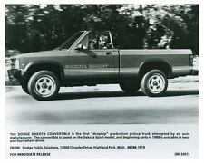 1989 Dodge Dakota Convertible Droptop Truck Photo Poster zch4626