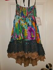 NWT Jak & Peppar Laney Skirt Swing Top Girls Size 16 Original Price $64 Colorful