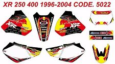 HONDA XR 250 400 1996-2004 Racing Decals Sticker Graphics Kit Unique Quality