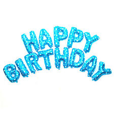 """13Pcs 16'' """"HAPPY BIRTHDAY"""" Letters Foil Balloons For Birthday Party Decoration"""