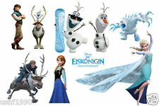 FROZEN Anna Elsa Princess Wall Stickers Decal Home Deco Children's Art Mural