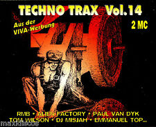 CASx2 - Techno Trax Vol. 14 - Various (TECHNO) EDIT. IN GERMANY 1995 MINT,SEALED