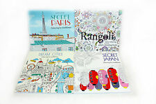 Art Therapy Adult Colouring for Mindfulness 4 Books Collection set-Secret Paris