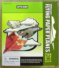 ULTIMATE FLYING PAPER PLANES ~ 60 AIRPLANES THAT REALLY FLY! ~ KITS FOR KIDS!