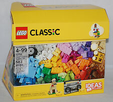 LEGO Classic Creative 10702 Building Set Assorted Colors 583 Pc - DAMAGED BOX!!!