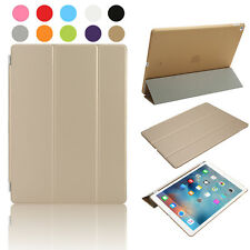 Smart Magnetic Leather Stand Case Cover Back for Apple iPad Pro 9.7'' UK Gold
