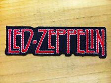 LED ZEPPELIN VINTAGE ROCK BAND Embroidered Easy Iron On Patch#79